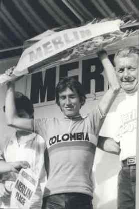 """Luis Alberto """"Lucho, El Jardinerito"""" Herrera. 1982."""