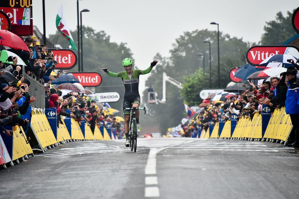 Lars Boom, del Belkin, vencedor en Arenberg.