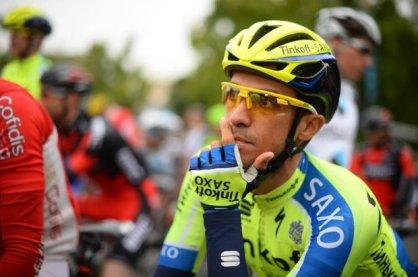 Alberto Contador sigue preocupado por el desarrollo que ha tenido la carrera.