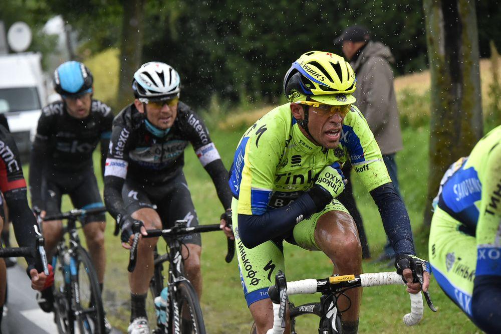 """Contador fue el gran damnificado del día en """"El Infierno del Norte""""."""