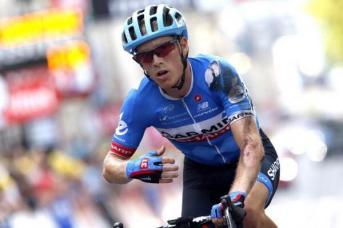 Andrew Talansky se metió al sprint sin ser especialista y mordió el polvo.