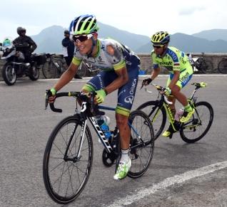 """Esteban """"El Chavito"""" Chaves mordió el polvo durante la jornada."""