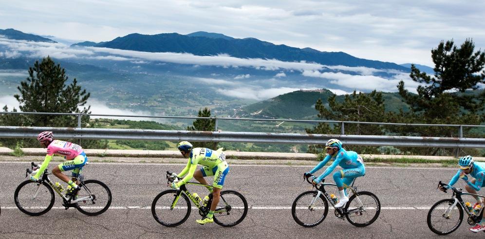 El ritmo brutal de la octava etapa, seleccionó la carrera desde las primeras de cambio.