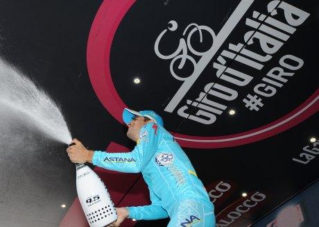 Landa celebra un podio muy bien ganado.