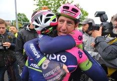 El Lampre completó su segunda etapa en esta edición del Giro.