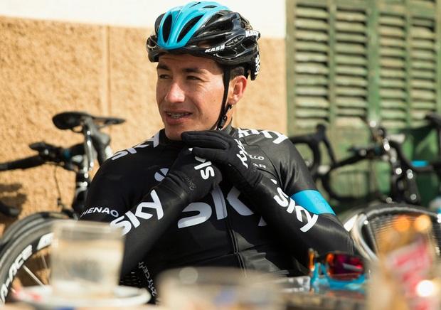 Henao estuvo a poco de perder su carrera deportiva tras una lesión sufrida en el Tour de Suiza 2014.
