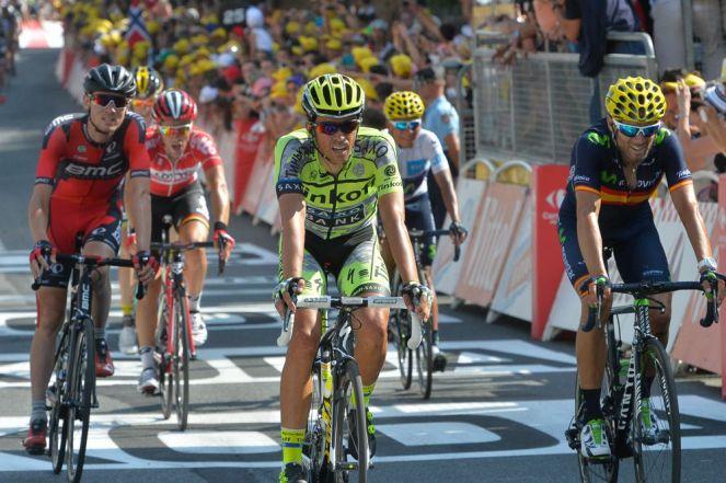 Alberto Contador termino 8º, por delante de Alejandro Valverde y Tejay Van Garderen.