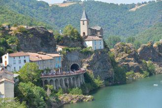 Los bellos paisajes franceses acompañaron el recorrido.