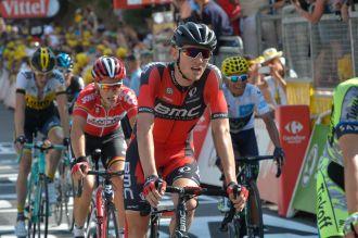 Tejay Van Garderen, 10º en la etapa.