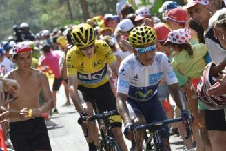 Quintana por fin le dio batalla a Froome.