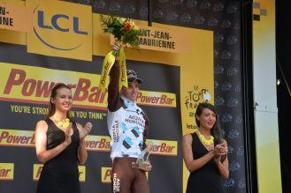 Romain Bardet, ganador de la etapa y el hombre de la combatividad.