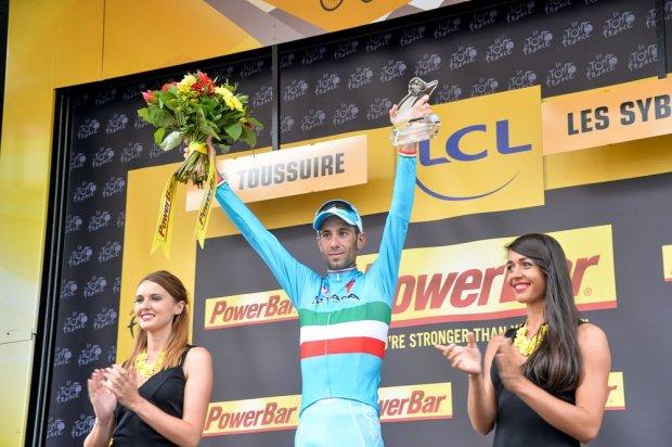 Vincenzo Nibali el ganador de la 19ª fracción.