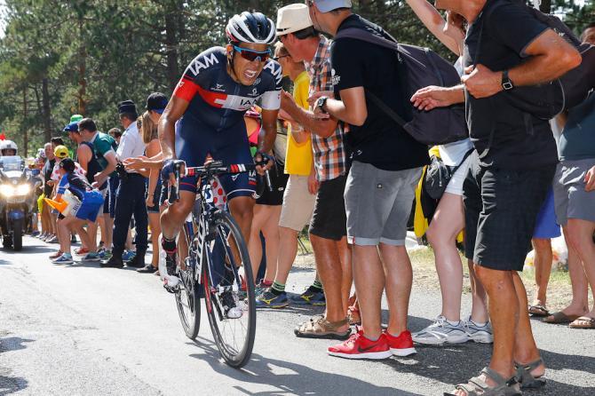 Pantano sufrió en el final de etapa, después de ser el primer valiente en revolver la olla.