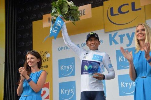 Nairo Quintana, terminará como el mejor de los jóvenes en el Tour de Francia 2015.
