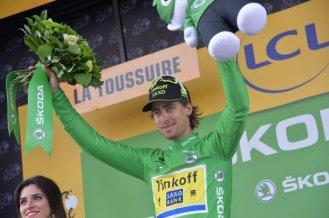 Peter Sagan, el dueño indiscutible de la camisa verde.
