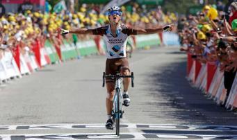 Alexis Vuillermoz fue el vencedor en la segunda llegada en el Mûr de Bretagne, en la historia del Tour.