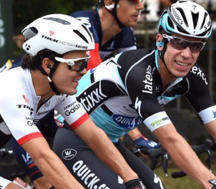 Rigoberto Urán y Julián Arredondo, dos de los Escarabajos presentes en el Tour de France 2015.