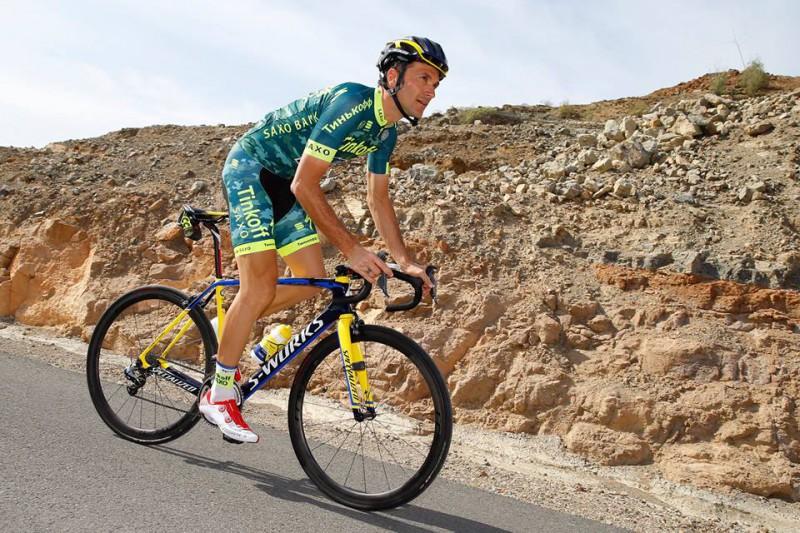 Ivan Basso. Corredor del Tinkoff Saxo.