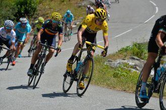 Froome, Valverde, Quintana y Nibali,.