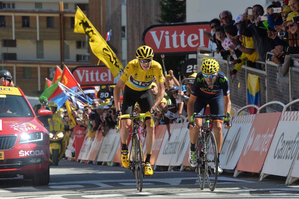 Chris Froome, actual campeón del Tour, decidió correr la Ronda Ibérica.