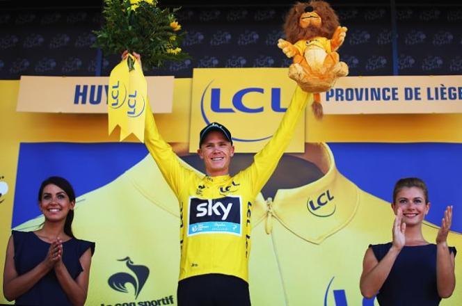 Froome se alza con el liderato del Tour de France en la 3ª jornada.