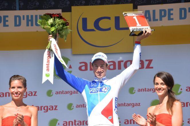 Alexandre Geniez, ganó el premio a la combatividad.