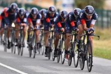 El primer buen registro del día lo impuso el IAM Cycling, que este año se estrena en la máxima categoría.