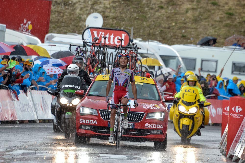 "Joaquim ""Purito"" Rodriguez, vencedor en Plateau de Beille."