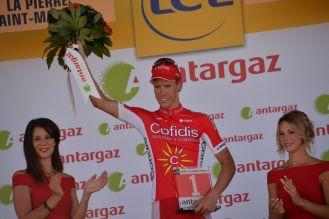 Kenneth van Bilsen gana el premio de la combatividad.