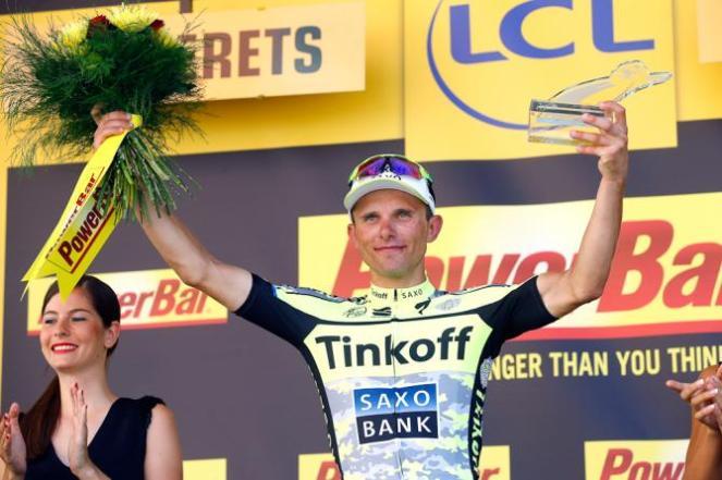 Rafal Majka, el ganador de la etapa 11 del Tour de France 2015.