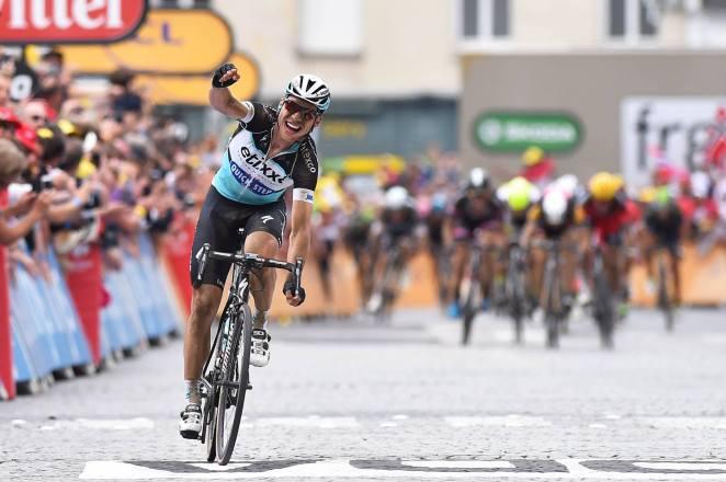 Tony Martin se alzó con una etapa tras tres intentos fallidos.