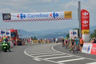 Serge Pauwels, le ganó la posición a Lieuwe Westra y cruzó primero en côte de Badaroux.