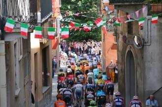 170 kilómetros fue el recorrido de la etapa 18 del Giro d' Italia 2015. (foto: ©Tim De Waele)