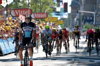 Zdenek Stybar logró la primera victoria en el Tour de France de su carrera.