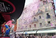 Contador no para de celebrar, quedan 3 días para coronarse como campeón.