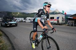 Urán entregó hasta la última gota, en la primera jornada sobre Los Alpes.