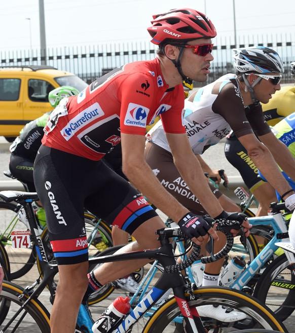 Tom Dumoulin, que no es especialista en la montaña, partirá como líder el miércoles en la etapa reina de La Vuelta 2015.
