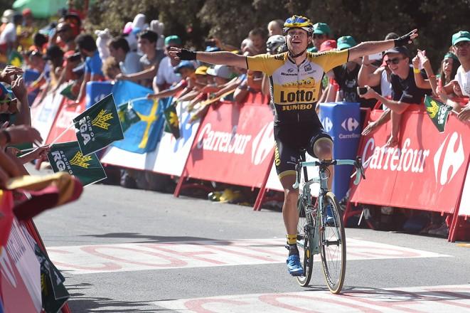 Lindeman, el ganador de la 7ª fracción de La Vuelta a España 2015.