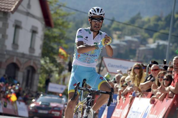 Fabio Aru consigue su primer triunfo en una Grand Tour.