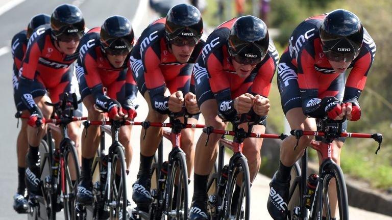 El BMC repite campeonato del mundo de crono por equipos.