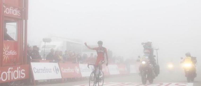 De Marchi repite etapa en la Vuelta a España, esta vez sobre Alto Campoo.