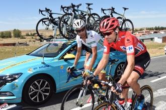 Este es el duelo más interesante de la Vuelta. Mañana es el último round.