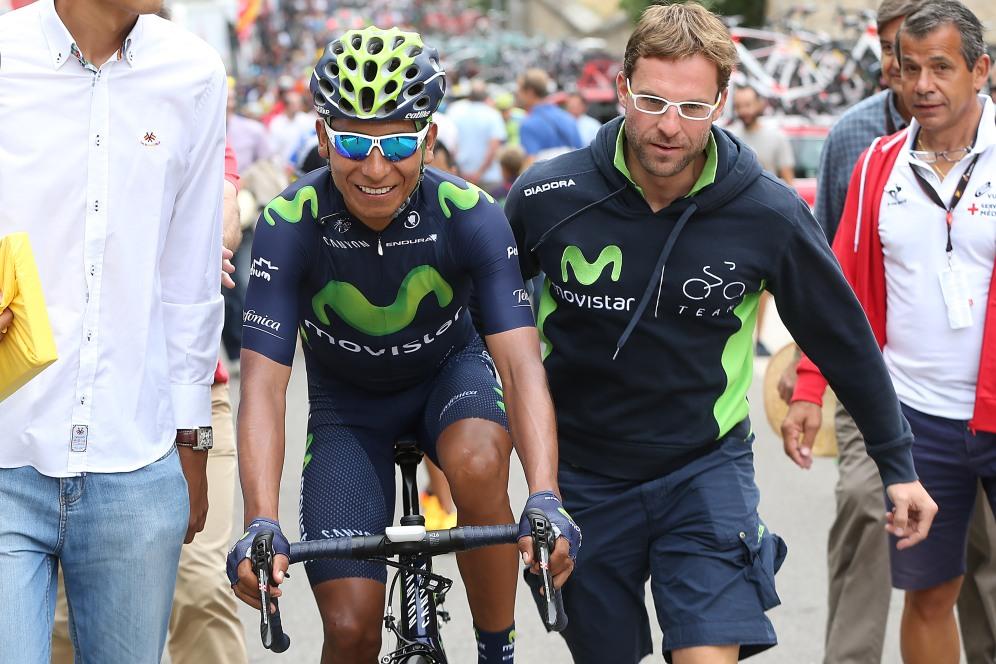 Quintana cerró su participación en La Vuelta contento de no haber abandonado, cuando le fallaron las fuerzas.