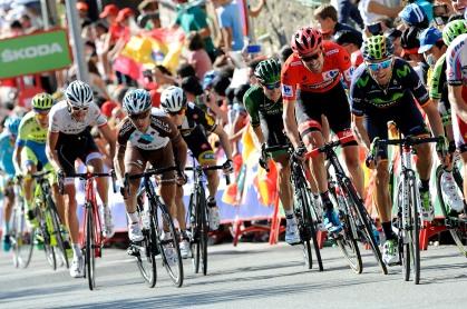 Valverde entró muy rezagado, acompañando al, hasta entonces, líder, en su debacle.