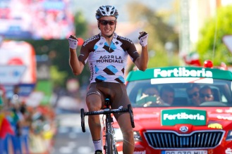 Alexis Gougeard, vencedor de la decimonovena jornada.
