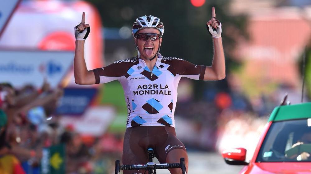 Alexis Gougeard abrió su palmarés de Grandes Vueltas, con un triunfo en solitario.