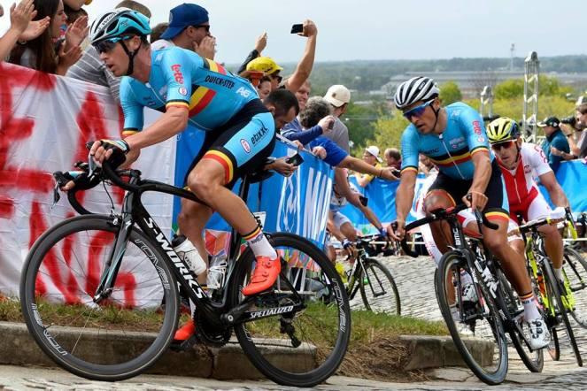 Bélgica, con Keisse y Van Avermaet, puso toda la leña en el fuego, pero no consiguió el premio.