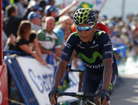 Quintana hizo todo lo posible por meterse al podio, pero Majka supo defenderse.