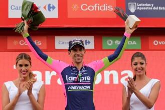 Nelson Oliveira abre su palmarés profesional con una actuación memorable en La Vuelta.