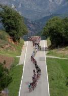 La carrera discurrió por Andorra, con sus paisajes de ensueño.